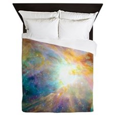 Space Galaxy Queen Duvet