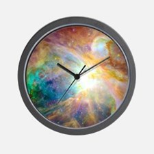 Space Galaxy Wall Clock