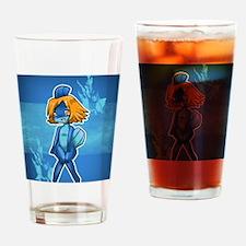 Ginjika Mudkip Blue Drinking Glass