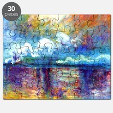 Monet Charing Cross Bridge Puzzle