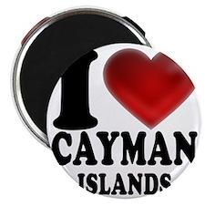 I Heart Cayman Islands Magnet