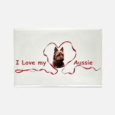 Australian Terrier Rectangle Magnet