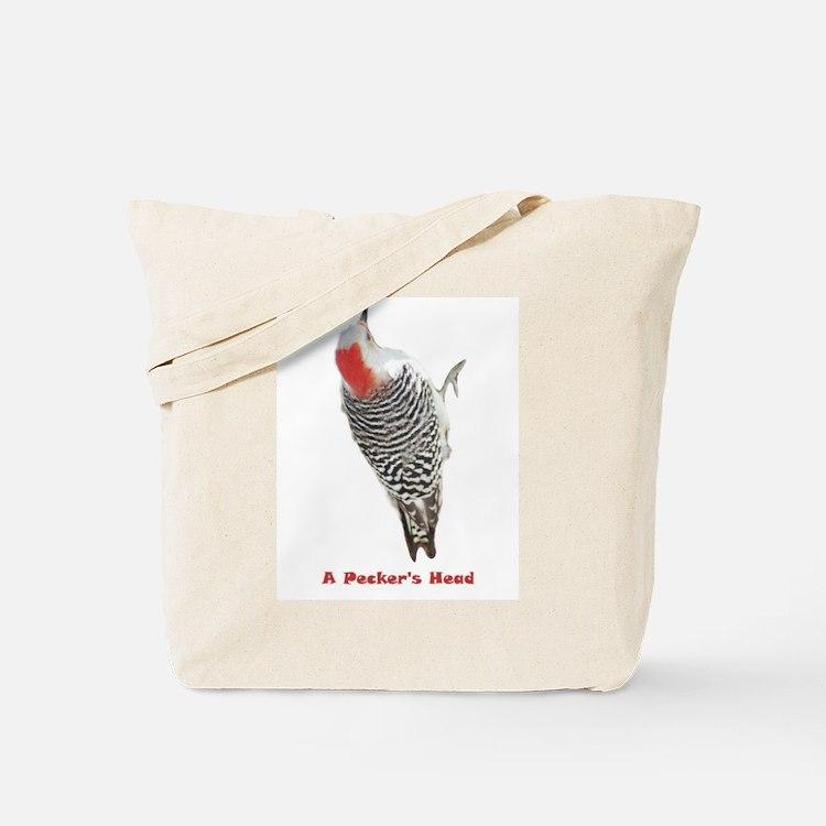 A Pecker's Head Tote Bag