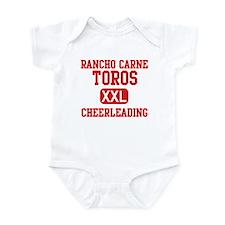 Rancho Carne Cheerleading Infant Bodysuit