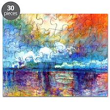 Monet Charing Cross Bridge Puzzle