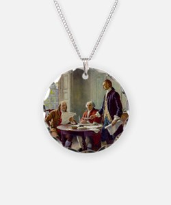 Declaration of Independence  Necklace