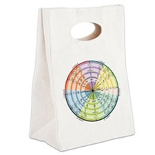 mathUnitCircleTheCircle16in Canvas Lunch Tote