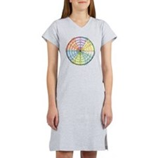 mathUnitCircleTheCircle16in Women's Nightshirt