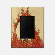 Corn Dog of Fire Picture Frame