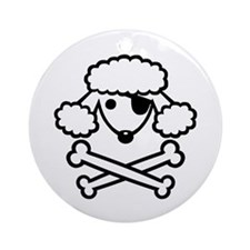 PoodlePirate-2 Ornament (Round)