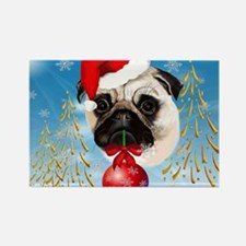 Calender A Very Merry Christmas P Rectangle Magnet
