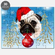 Calender A Very Merry Christmas Pug Puzzle