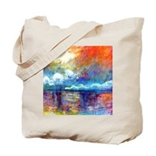 Claude Monet Charing Cross Bridge Tote Bag