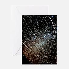 Leonid meteors Greeting Card