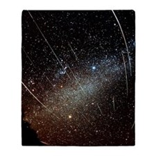 Leonid meteors Throw Blanket