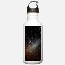 Leonid meteors Water Bottle