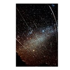 Leonid meteors Postcards (Package of 8)