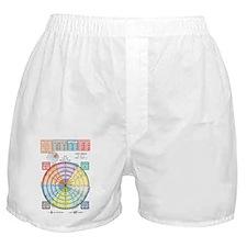 Unit Circle, Radians, Equations Boxer Shorts