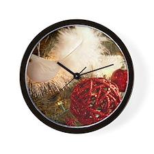 Christmas E Wall Clock