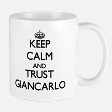 Keep Calm and TRUST Giancarlo Mugs