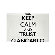 Keep Calm and TRUST Giancarlo Magnets