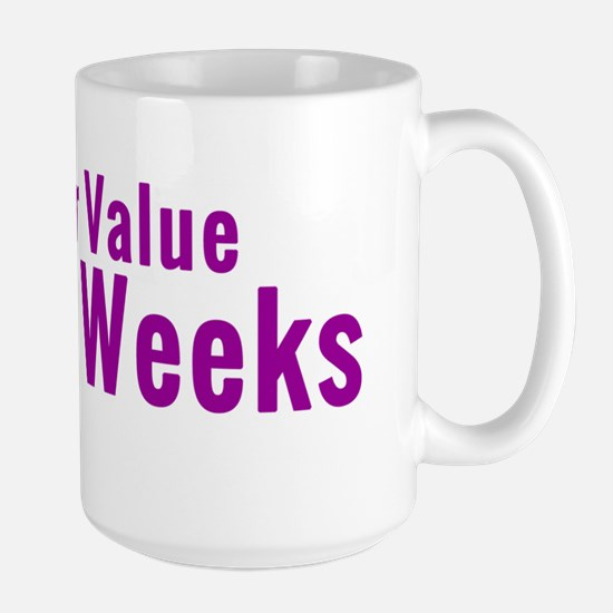 ValueEvery2Weeks.fw Large Mug