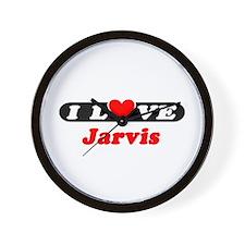I Love Jarvis Wall Clock