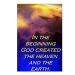 Genesis 1:1 Postcards (Package of 8)