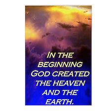Genesis 1:1 Postcards (Package of 8)