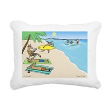 yuletide Rectangular Canvas Pillow