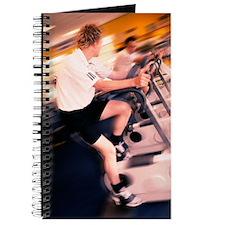 Men exercising Journal