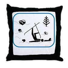 yardsaleCP Throw Pillow