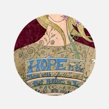 """Song of Hope 3.5"""" Button"""
