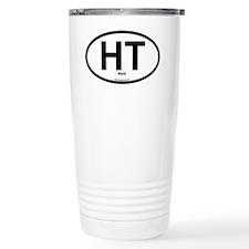HT - Haiti Oval Travel Coffee Mug