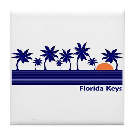 Florida Keys Tile Coaster