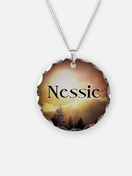Nessie Twilight  Forks Necklace
