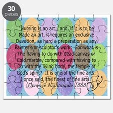Florence Nightingale Quote Bag Puzzle