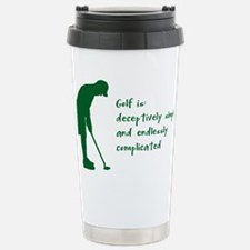 Golf Stainless Steel Travel Mug