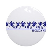 Florida Keys Ornament (Round)