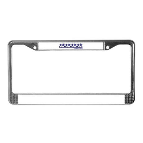 Florida Keys License Plate Frame