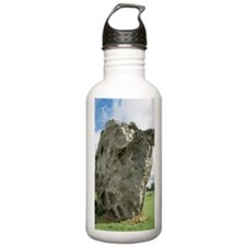 Neolithic standing sto Water Bottle