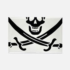 Witty Pirate Rectangle Magnet