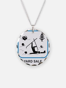 yardsaleCPwht Necklace