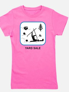 yardsaleCPwht Girl's Tee