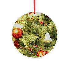 Christmas G5 Round Ornament