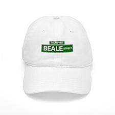 STREET SIGNS - MEMPHIS - BEALE STREET Baseball Cap