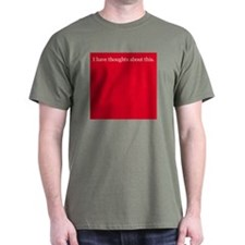 Thoughts about Red T-Shirt