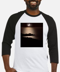 Moonlit coast Baseball Jersey