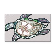 Turtle design Rectangle Car Magnet