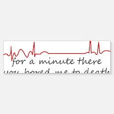 Medical Humor Bumper Bumper Sticker